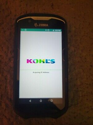 Zebra Tc520kmobile Touch Screen Computer Barcode Scanner Kohls Software