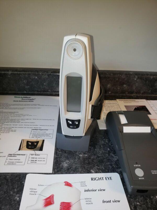 Welch Allyn 140 Series SureSight Portable Vision Screener & Martel Printer