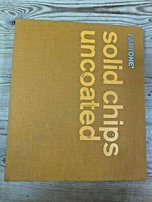 Pantone Solid Chips Uncoated - Color Matching Book 2003