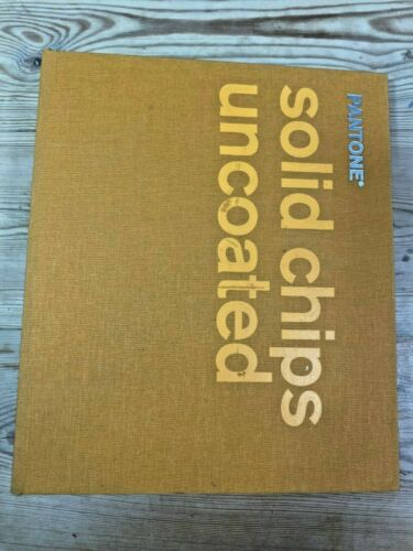 Pantone Solid Chips Uncoated - Color Matching Book (2003)