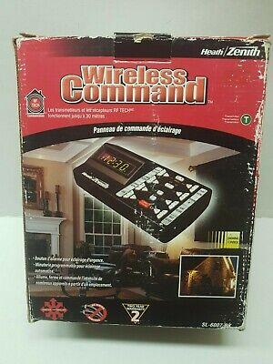 Heath/Zenith Wireless Command Lighting Control Panel Zenith Wireless Switch