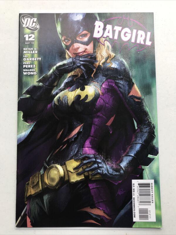 Batgirl 12, DC 2010, Artgerm, Stephanie Brown, Batman