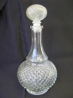 Genuine Lead CRYSTAL WINE DECANTER Made in Belgium 13x24cm North Plympton West Torrens Area Preview