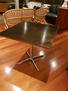 6 x Solid Cafe/Restaurant Table Rustic Style Mount Pleasant Melville Area Preview