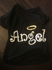 Angel T Shirt for a Puppy