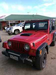 1999 Jeep Wrangler Sport Indented Head Outer Geelong Preview