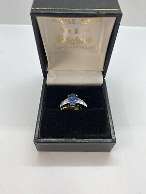 Stunning Diamond and Sapphire