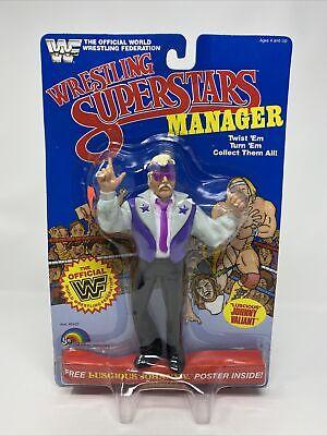 WWF LJN Wrestling Superstars 1985 Manager LUSCIUOS JOHNNY V Figure MOC VINTAGE