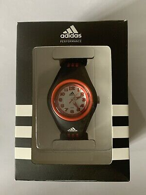 Adidas Performance Red/Black Kids Junior Unisex Watch Boxed With Instructions