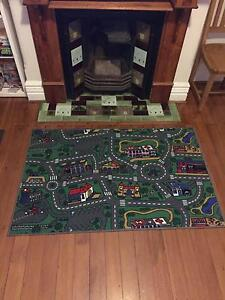 New $25! Large Activity city mat rubber backed acrylic pile rug North Sydney North Sydney Area Preview