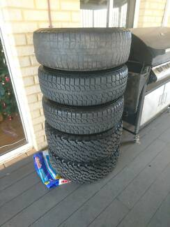 Land Rover Discovery 2 wheels and tyres x 5