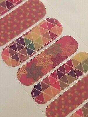 Jamberry Colorful Fun NAS Wrap, 1/2 sheet - Fun Coloring Sheets