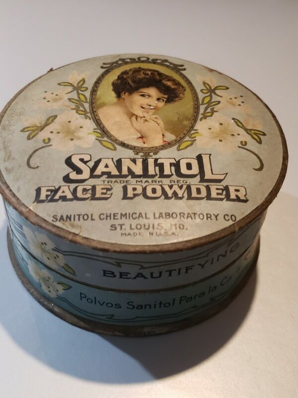 SANITOL FACE POWDER  ----100% FULL AND SEALED!!!!!!