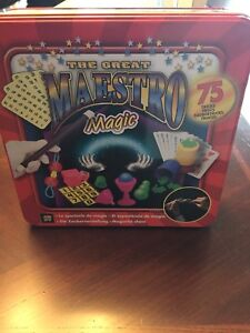 Great Maestro Magic Kit (never been used)