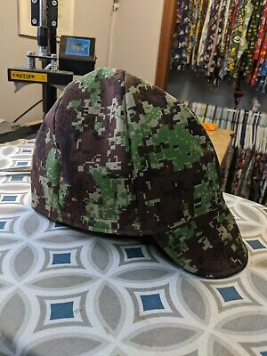Wendys Welding Hat Made With Digital Camo 2 Application New