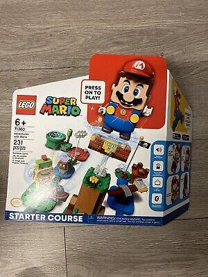 LEGO Nintendo 71360: Super Mario Starter Course Adventures with Mario Sealed NIB