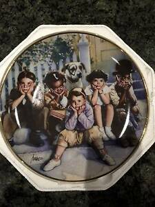 Kids Plate Display Plate Collectors Plate - The Little Rascals Castle Hill The Hills District Preview
