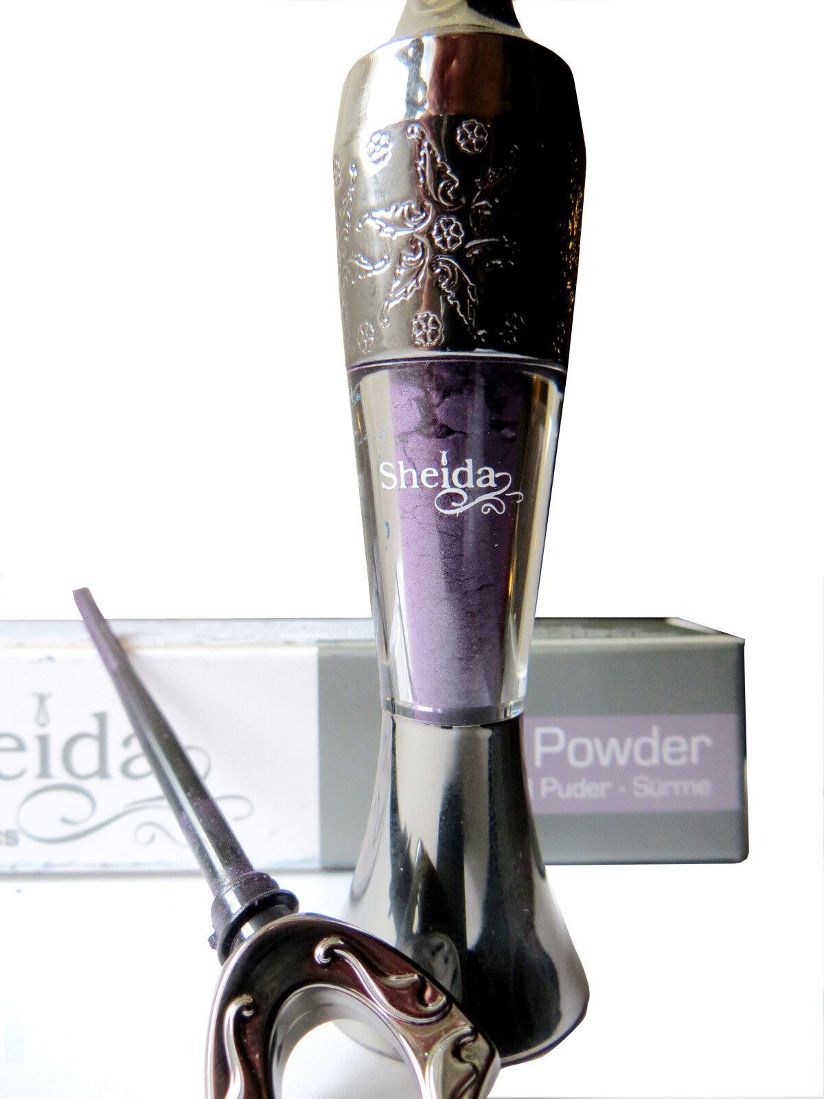 Sheida kohl kajal trucco polvere occhi si usa come matita, eyeliner, ombretto 2g