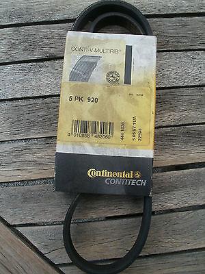 Conti-V-Multirib, Keilrippenriemen, Keilriemen, ungenutzt, 5 PK 920 gebraucht kaufen  Bardowick