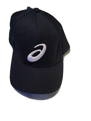 Aasics Blue Snapback Cap