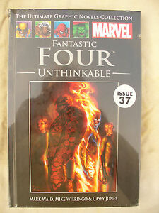MARVEL-ULTIMATE-GRAPHIC-NOVEL-FANTASTIC-FOUR-UNTHINKABLE-issue-37-new-sealed