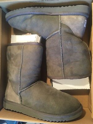 Genuine Ugg Boots - Classic Short Women's Grey Gray - Size 37 - Boot Footwear