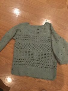 Youth girls knitted sweater