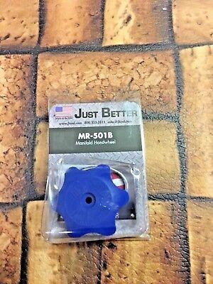 Jb Industries Manifold Handwheel Blue Wscrew Mr-501b