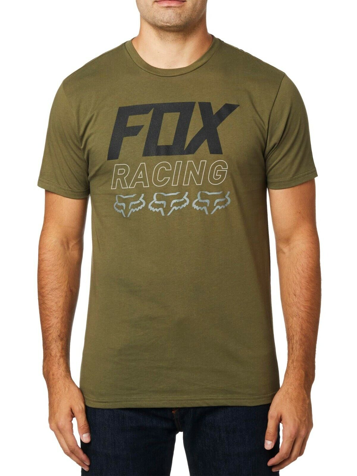 Fox Racing Men's Overdrive Short Sleeve Premium T-shirt Foxh