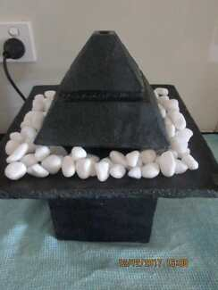 Water feature     30cm by 28cm
