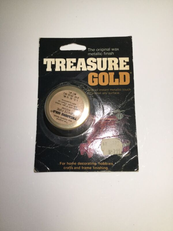 Treasure Gold THE ORIGINAL Wax Metallic Finish - WHITE FIRE CS1040 MADE IN USA