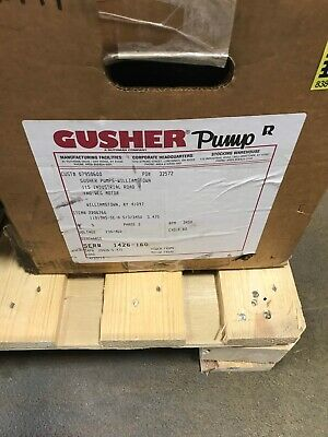 New In Box Gusher 5 Hp Pump 11019ns-se-a 533450 230460 3 Ph