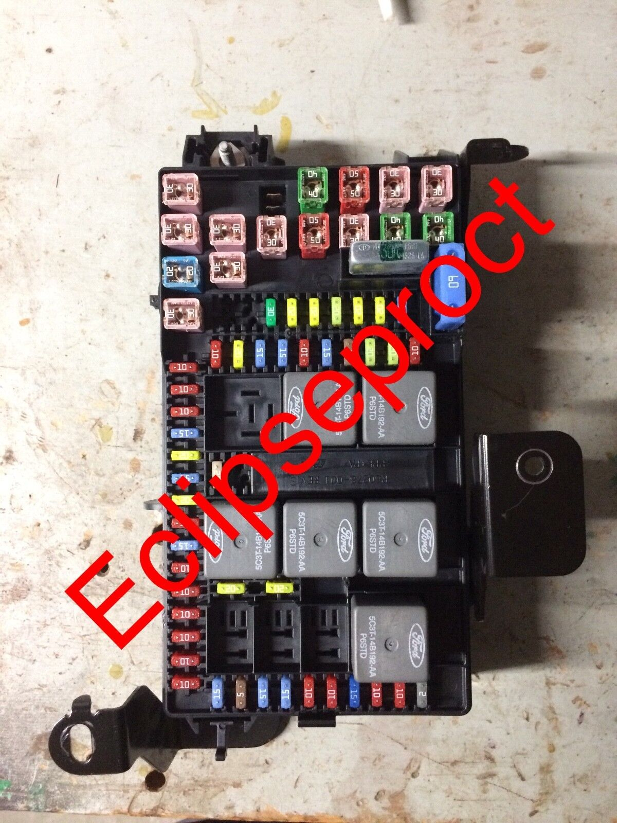 2002-2003 Ford Excursion Fuse Box Repair Service