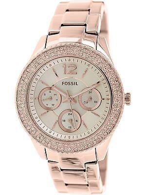 Fossil Women's Stella ES3590 Rose-Gold Stainless-Steel Quartz Fashion Watch