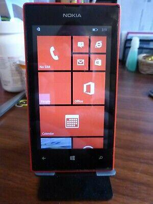 Nokia Lumia 520 8GB Red Windows Smartphone GD156