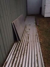 Corrugated iron sheets - 4x 6.5 metre Parkdale Kingston Area Preview