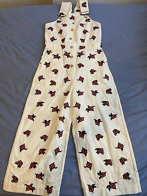 New House Of Holland Demim Dungarees All In One   Available Sizes 10