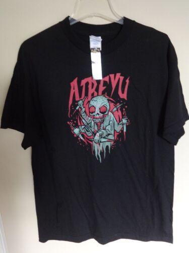 NWT Atreyu 2006 Graphic Printed Tour Band T-Shirt Men Large