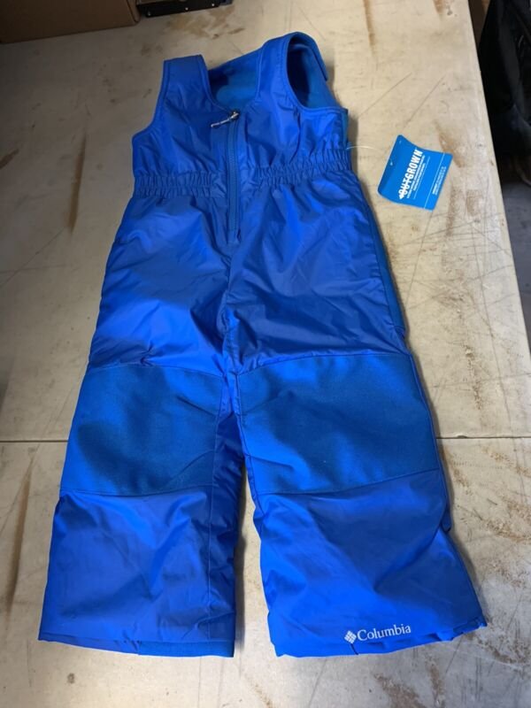 columbia bib snow pants blue 3t