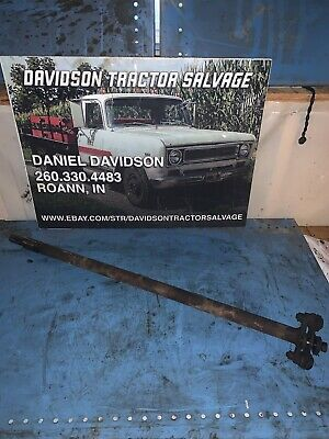 Vintage Farmall A Farm Tractor Drive Shaft With Linkage