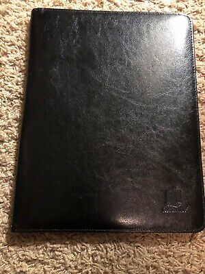 Nationwide Leather Padfolio Folder Organizer And Business Card Holder