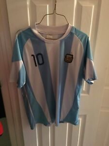 Messi Argentina soccer jersey