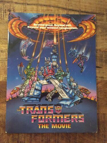 Transformers The Movie (1986 ) Vintage Original Promotional Media Press Kit