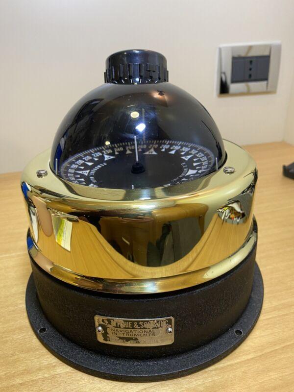 E.S. Ritchie Naval Navigational Compass PEMBROKE MA