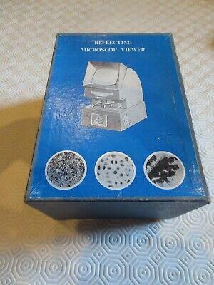 HOC reflecting microscope viewer rare vintage