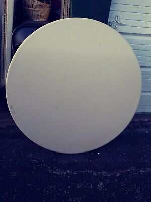 Lifetime Brand White Plastic Folding Round Tables 46 Inches Lot Of 10 Used