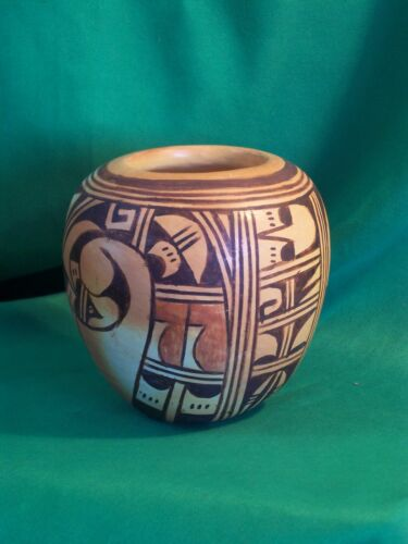 Hopi Polychrome Jar by Anita Polacca - Traditional Beauty Purchased in 1985!
