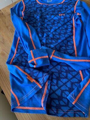 Kari Traa Merino Wool Mix Medium Ls Top Rrp £79