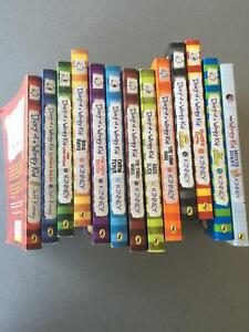 Wanted: Diary of a Wimpy Kid books 1-12 plus Movie Diary