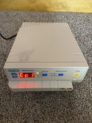 Bio-rad Micropulser Electroporator For Bacteriafungi Excellent Working